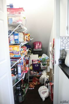 Who would have ever thought that a tiny little ole pantry would almost be the death of me? HA. I say that jokingly, but I am a little bit serious too!  For mont…
