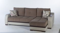 Ultra Sectional Sofa In Optimum Brown By Istikbal