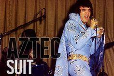 Fashion Fit for a King ! AZTEC SUIT 1972