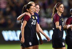 WNT Caps Off Unbeaten 2016 with 5-0 Win vs. Romania