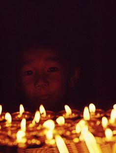 Jigme Khyentse Rinpoche. Darjeeling, India, 1970. photo by Mathieu Ricard