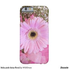 Baby pink daisy floral barely there iPhone 6 case