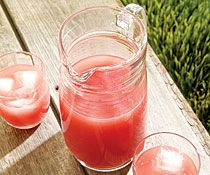 Watermelon-Basil Water (and other yummy summer drinks!)