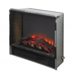 Electric Fire Box for Built-ins - Built-In Fireplace, Fronts and Cabinets - Electric Fireplaces