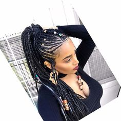 Tribal Braids Hairstyles to Badass Tribal Braids Hairstyles to Try Doppelter gedrehter Zopf Kid Braid Styles - Back to School Braided Hairstyles for Kids Box Braids Hairstyles, Sporty Hairstyles, Boho Hairstyles, African Hairstyles, Hairstyles 2018, Popular Hairstyles, Protective Hairstyles, Gorgeous Hairstyles, Dreadlock Hairstyles