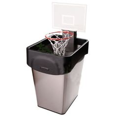 Cheering Basketball Trash Can Toy Office Hoop for Home Office Relaxing