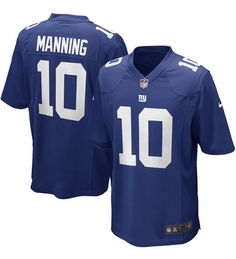 Youth New York Giants Eli Manning Nike Royal Blue Team Color Game Jersey M(10/12  | eBay