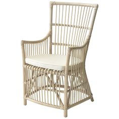 White Wash Newport Chair - Plantation - Temple & Webster presents