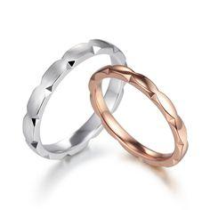 듀코로넷 커플링 Baby Jewelry, Wedding Jewelry, Jewelry Rings, Jewelry Accessories, Wedding Rings, Diamond Rings, Diamond Jewelry, Couple Bands, Skinny Rings
