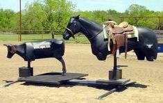 ROPRO Training Systems: Slick-Stick Team Roping Simulator; team roping