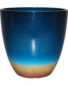 Threshold Threshold? Cobalt Reactive Glaze Planter from Target | BHG.com Shop