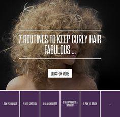 #Hair [ more at http://hair.allwomenstalk.com ]  #Caucasian #Routines #Fabulous #Diana #Curly