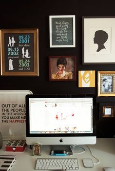 Vana Chupp of Le Papier Studio. how black feels color full.