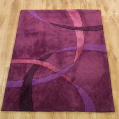 Twist Rug #dunelm #home #pantone #radiantorchid