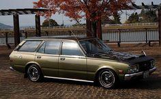 Toyota Corona T100 Van | Lowered, JDM