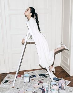 Angelababy in DIOR for Grazia China April 2015