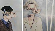 / IGCSE / A Level Art Exam Ideas 2013 portraits by artist Henrietta Harrisportraits by artist Henrietta Harris Portraits, Portrait Art, Arte Gcse, Disguise Art, Distortion Art, Art Alevel, Gcse Art Sketchbook, Reflection Art, Art Projects For Adults