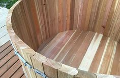 hot tub stave joinery