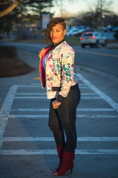 OOTD: Friday Floral | StitchedByJ