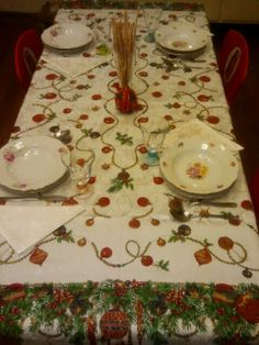 Just for fun! :-) My Christmas table.