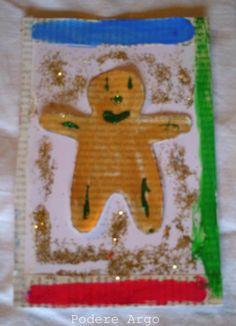 #DIY Biglietti di #Natale fai da te #riciclo #tutorial #christmas