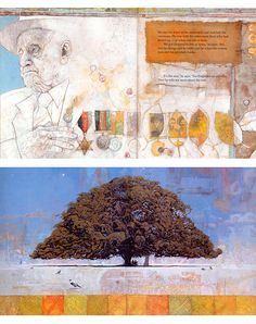 Shaun Tan • 'Great Grandpa' (above), 'Midsummer' (below) from 'Memorial', 1999
