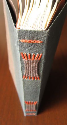 cool spine! and use of colors