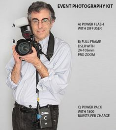 An Event Photographer's Toolkit #tips #howto #photography