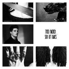 TW Characters as Demigods • • • • • • • • • • • • • • • • • • • • • • • • • • • • • • Theo Raeken • Son of Hades