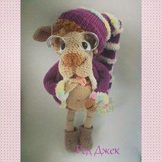 Барашек кстати чок. Автор Ред Джек. #амигуруми #вязание #ручнаяработа #игрушки #барашек #amigurumi #weamiguru #knitting #cute #sheep #handmade