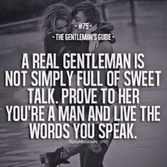 Live the words you speak