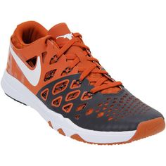 Texas Longhorns Nike Train Speed 4 Week Zero College Collection Shoes - Orange