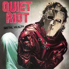"""Quiet Riot - Metal Heatlh (1983). La banda de Heavy Metal tuvo su unico exito con la rola """"Cum On Feel The Noize""""."""