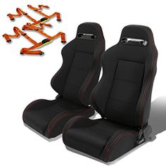 Best price on Pair of Type-R Racing Seats (Black)+Harness 4-Point Seat Belts (Orange) See details here: http://reallycarshop.com/product/pair-of-type-r-racing-seats-blackharness-4-point-seat-belts-orange/ Truly a bargain for the brand new Pair of Type-R Racing Seats (Black)+Harness 4-Point Seat Belts (Orange)! Take a look at this budget item, read customers' feedback on Pair of Type-R Racing Seats (Black)+Harness 4-Point Seat Belts (Orange), and buy it online with no second thought! Check…