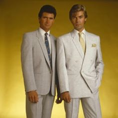 1980s Formal - grey suits