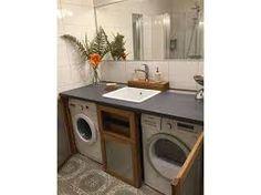 Bildergebnis für waschmaschine für unter waschtisch