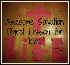 Romans 6:23 object lesson