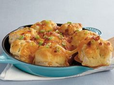 Cheesy Bacon Pull-Apart Biscuits    ....made with Bisquick...I always have Bisquick in the pantry!
