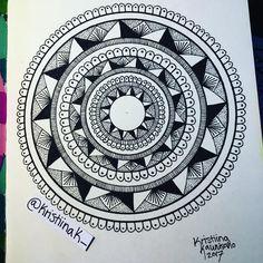 Materials: Montmarte's sketchbook and Centropen's fineliner ♦ #mandala #mandalaart #mandalaartist #doodle #doodling #doodleart #zentangle #art #artist #draw #drawing #traditionalart #instaart #instart #taide #piirrustus #mandala_sharing #mandaladesign  #mandalaplanet #mandalala  #mandala_universe #mandalapassion #imaginationarts #mandalalove #mandalaplanet #arts_help #heymandalas #beautiful_mandalas #centropen