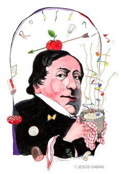 Rossini, Marche