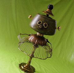 robot sculpture * URSULA - Snack Server Robot | by Reclaim2Fame