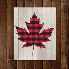 Hey, I found this really awesome Etsy listing at https://www.etsy.com/ca/listing/244974871/canadian-maple-leaf-print-lumberjack