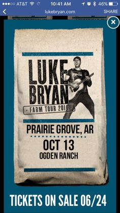 Cannot wait for this concert!!!!