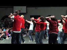 WGSS Teacher Skit Flash Mob - Don't Stop Believin' (Glee) - Christmas Skit 2010