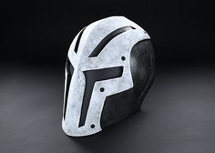 ColdBloodArt #8 Airsoft Paintball Mask - Bone