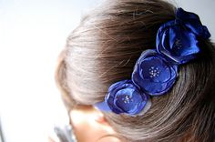 the rosebud headband by rachel.grace, could be a good idea for natural waistline belts