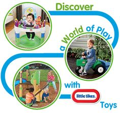 Discover a World of Play with Little Tikes Toys