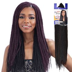 FreeTress Synthetic Hair Braids Senegalese Twist Small