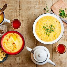 Unsere persische Kichererbsensuppe bringt Würze auf den Löffel. #kichererbse #suppe #edeka