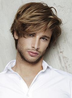 Straight Synthetic Capless Mens Wigs With Bangs Mens Hairstyles 2016, Shag Hairstyles, Straight Hairstyles, Men's Hairstyle, Latest Hairstyles, Vintage Hairstyles, Layered Haircuts, Cool Haircuts, Haircuts For Men